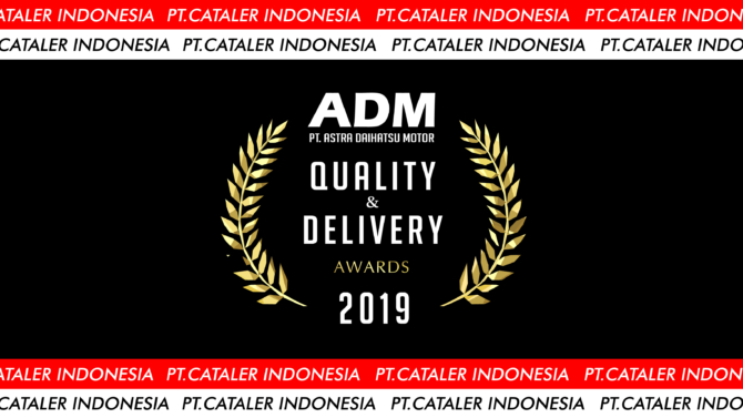Cataler Indonesia Receives Quality & Delivery Award from ADM