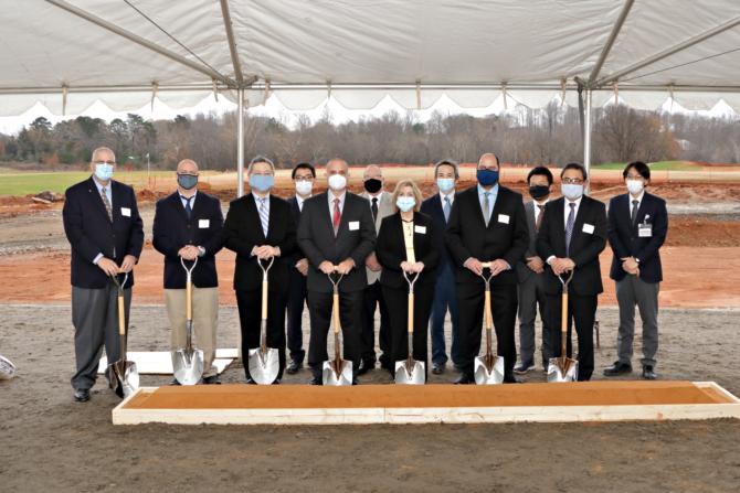CNA groundbreaking ceremony was held