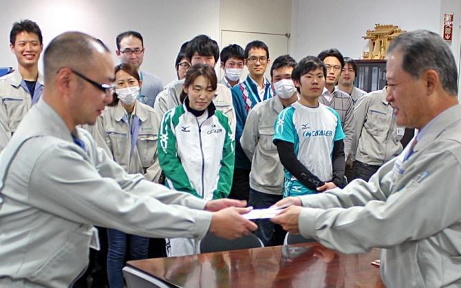 第3回 掛川市城下町駅伝競走大会にむけた壮行会開催
