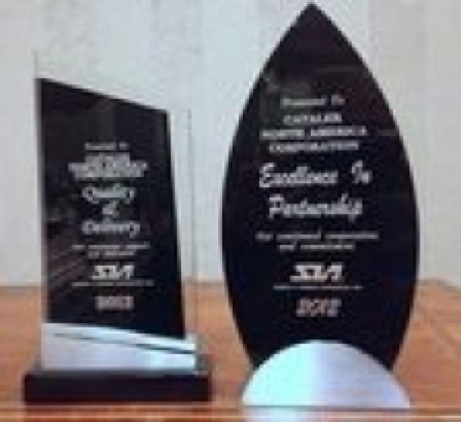 CNA 米国スバル殿より「Quality and Delivery Award」「Excellence in Performance Award」を受賞