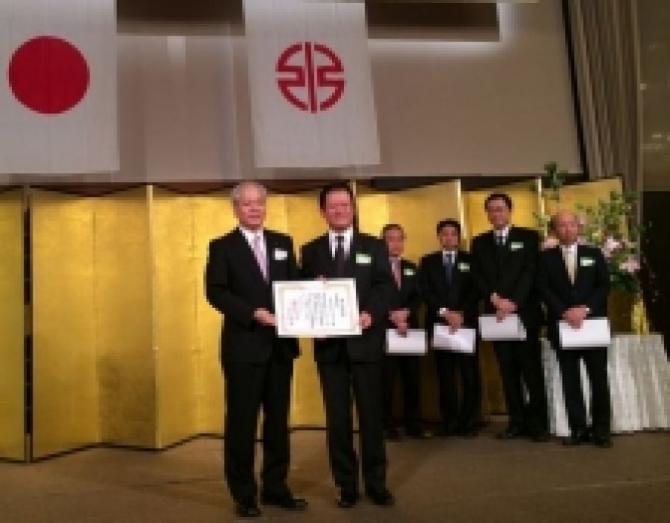 川崎重工業殿より「品質優良賞」を初受賞