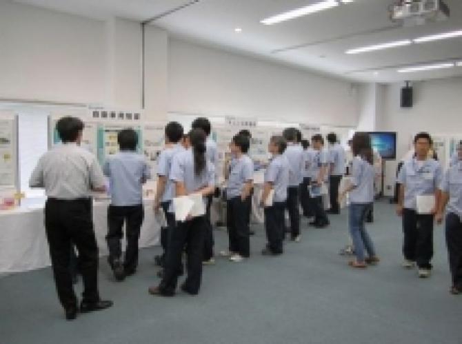 ヤマハ発動機殿で製品展示会開催