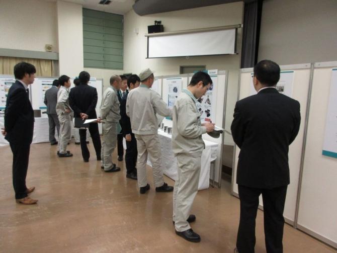 川崎重工業殿で製品展示会開催