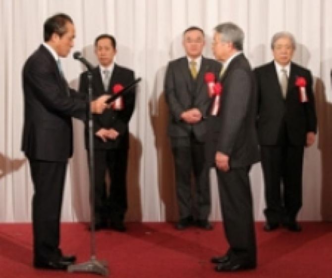 ヤマハ発動機殿より4年連続「品質優秀賞」を受賞