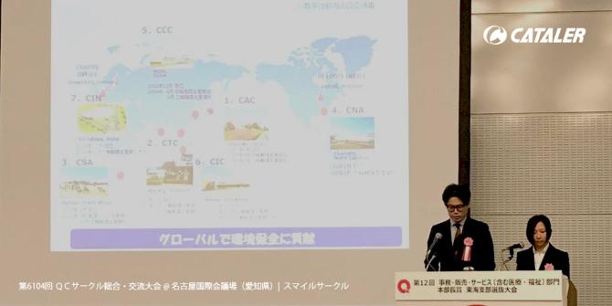 QCサークル東海支部 総合交流大会にて金賞を受賞しました