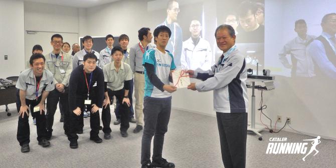 第7回 掛川市城下町駅伝競走大会にむけた壮行会を開催しました
