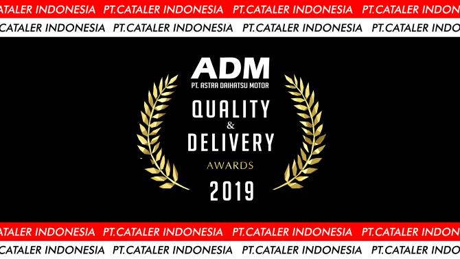 キャタラーインドネシアがADMよりQuality & Delivery Awardを受賞しました