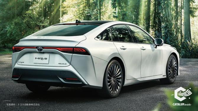 トヨタ自動車の燃料電池自動車「新型MIRAI」に当社の「電極触媒」が採用されました